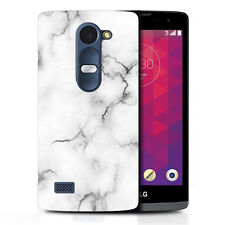 hard case cover for lg leon 4g marble effect
