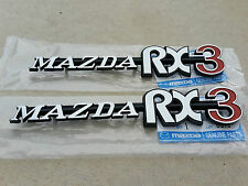 Mazda RX3 badges NEW