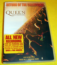 Queen & Paul Rodgers - Return of the Champions (DVD, 2005)