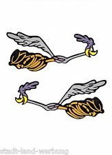 138 Set Roadrunner Aufkleber/Sticker/Rockabilly/Youngtimer/Motorrad/Tuning/Retro