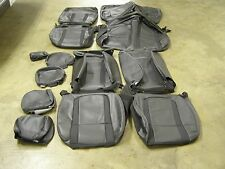 OEM Take-off 2011 2012 2013 2014 Ford Raptor Truck SVT Seat Covers Leather NOS