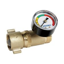 Camco RV 40064 Fresh Water Hose Pressure Regulator with Gauge