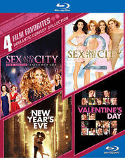 Sex and the city 1&2 / New Years eve / Valentines Day romcom coll NEW 4 movies