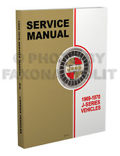 1969-1970 Jeep Gladiator and Wagoneer Shop Manual Repair Service Pickup Truck