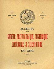 Bulletin de la Société Archéologique du GERS, 3-1972. Le Loc, Sempesserre, etc