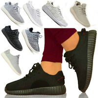 Girls Womens Yeezy Kanye Inspired Fitness Gym Trainers Boost Casual Pumps Size