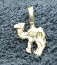 Sterling Silver ~1 grams Two Hump Bactrian Camel Charm or Pendant