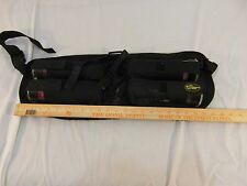 Extreme Rage Black Paintball Carrier Waist Belt W/ 4 Clear Cannisters 32650