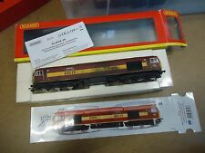 HORNBY OO GAUGE CLASS 60 SUPER DETAILED 60029 EWS DCC FITTED WEATHERED BOXED