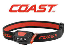 NEW COAST Dual Colour 4 Mode Red/White LED Head Torch/Lamp/Light 37 Lumens FL14