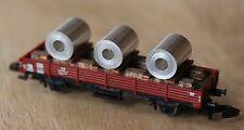 Ladegut 3 Alucoils auf Holzgestell Spur Z