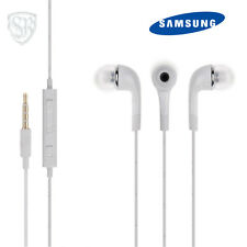 3.5mm Jack Genuine Samsung Headphones Handsfree Earphones For All Phones - White