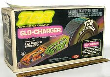 1979 Ideal TCR HO Slot Car Total Control Racing GLO-CHARGER Sealed Box 3489-2 A+