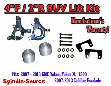 "07 - 13 GMC Yukon / XL 1500 Cadillac Escalade 4"" / 2"" Lift Kit Spindle + Spacer"