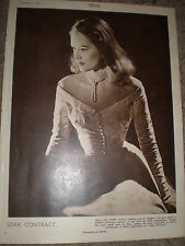 Photo article actress Sally Ann Howes 1949 ref K