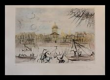 "Best Salvador Dali Original Etchings ""Academy Of France"" from Dali museum w/ COA"