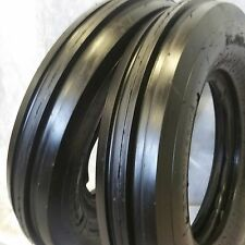 TWO 550X16,550-16,5.50X16 DEERE FORD Six Ply 3 Rib Tractor Tires w/Tubes