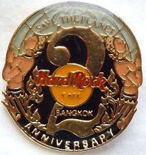 Hard Rock Cafe Bangkok 2nd Anniversary Pin