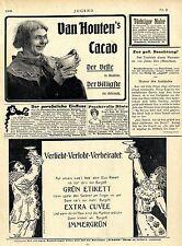 Verliebt-Verlobt-Verheiratet...Burgell Immergrün Extra Cuvee  Ad 1906