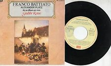FRANCO BATTIATO in SPAGNOLO disco 45 MADE in SPAIN Alexander Platz 1990