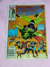 The Spectacular Spider-Man #168 Comic Book Marvel 1990