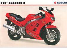Suzuki GB Sales Brochure RF600 RF600R