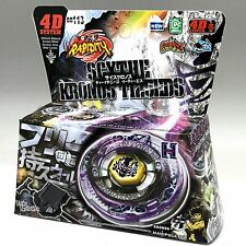 SCYTHE KRONOS BEYBLADE 4D TOP METAL FUSION FIGHT MASTER NEW + LAUNCHER USA