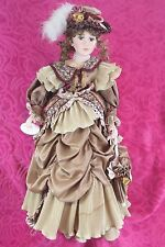 Vintage 27 in Leonardo collection Porcelain Doll Charlotte