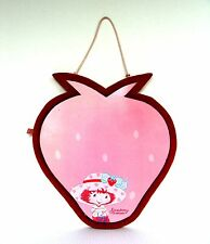 "Strawberry Shortcake Memo Board Magnetic Dry Erase Wall Hanging 14"" Tall Figural"