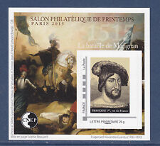 BLOC CNEP N° 68 ** MNH,  SALON PHILATELIQUE DE PRINTEMPS PARIS 2015, TB