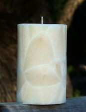 40hr DOUBLE VANILLA Triple Scented Natural CANDLE Relaxation Spa Fragranced Gift