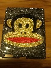 NEW PAUL FRANK MONKEY Bling®  iPad Rhinestone Crystal  Case Cover