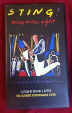 STING BRING ON THE NIGHT - VHS PAL
