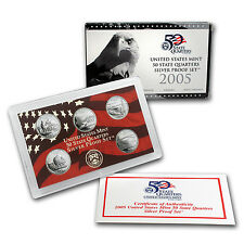 2005 U.S. Proof Set (Silver Quarters Only)