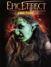 MEDIEVAL FANTASY Epic Effect ORC EARS Latex Prosthetic MAKE UP COSTUME LARP New