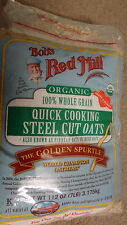 Sealed Bob's Red Mill Organic 100% Whole Grain Steel Cut Oats 14lbs (two 7lbs)