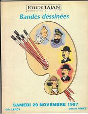Catalogue Vente aux Enchères 29 novembre 1997. Tajan