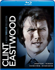 Clint Eastwood: 4-Movie Thriller Collection (2016, REGION A Blu-ray New)