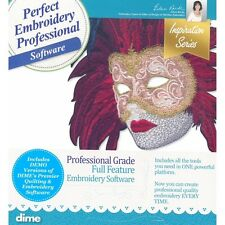 DIME Designs in Machine Embroidery Professional Embroidery Software New