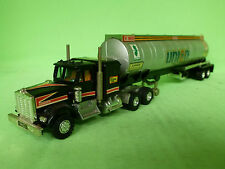 SHINSEI MINI POWER 643 KENWORTH TRUCK OIL TANKER TRAILER - VERY GOOD CONDITION -
