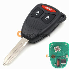 New Uncut Remote Key Fob 2+1 Button for Dodge Dakota Durango 2005-2010 KOBDT04A