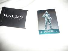 Halo 5 Premium da collezione in metallo Trading Card Spartan Locke