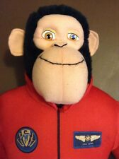 SPACE CHIMPS Plush Toy Stuffed Monkey 2008 Movie Character Space Suit Astronaut