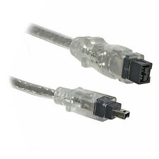 2M Firewire 800 to 400 9 Pin to 4 Pin Cable IEEE1394B