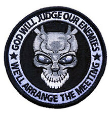 Special Forces Punisher Donnie Darko Alien Frank Spoof hook patch
