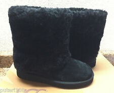UGG WOMEN PATTEN BLACK MAYLIN SHEARLING CUFF US 5 / EU 36 / UK 3.5 - NEW