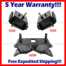 M011 Motor & Trans Mount Set 3pcs for 1993-1997 Toyota Land Cruiser 4.5L w/ AUTO