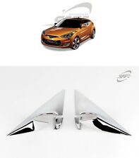 SAFE Chrome A Pillar Molding 4Pcs For Hyundai Veloster 2012 2016