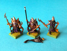 Warhammer - Dark Elf - Black Arc Corsairs Command Group x3 - Metal WF336