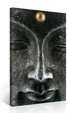 Stretched Canvas Print - BUDDHA FACE Zen Large Wall Art e3364